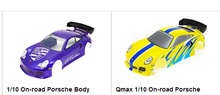 1/10 Scale On road Race Electric Nitro Drift 911 Body Car Shell 200mm(Yellow/Blue) For Kyosho Hpi Redcat Tamiya