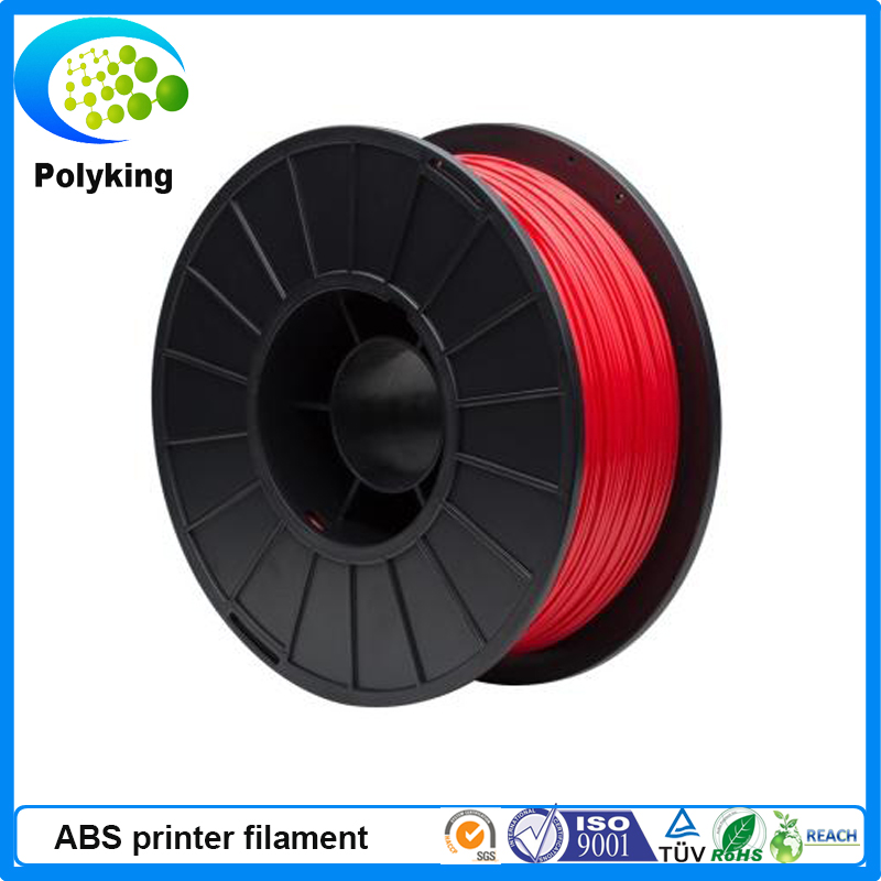 3mm Red ABS 3D Printer Consumables-1kg Spool in a factory price<br>
