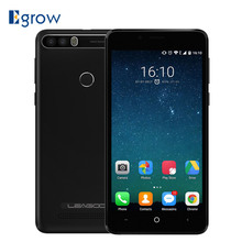 Leagoo Kiicaa Power 5.0 inch 4000mAh Cell phone Android 7.0 MT6580A 2G RAM 16G ROM 8MP Dual Rear Cams Smartphone 3G Mobile Phone(China)