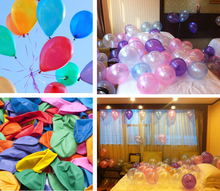 "97-100pcs 10"" cheap Valentines Latex Baloon Helium Balao Party white Wedding balloons Birthday Balloons Balls children toy gifts"
