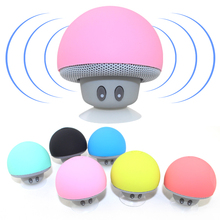 Hot Wireless Mini Bluetooth Speaker Portable Mushroom Waterproof Stereo Bluetooth Speaker for Phone iPhone Xiaomi Computer