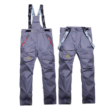 High quality Outdoor thick winter men snowboard skiing pants waterproof Multicolor warm Breathable ski pant Mountain climbing