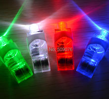 Free shipping 6pcs/lot Finger Light Up Ring Laser LED Rave Party Favors Glow Beams party lights
