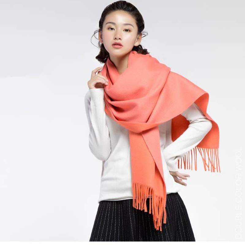 Different Color Water Ripple Scarf Multi Colors Thick Shawl Women Soft Scarves  Cosywarmer