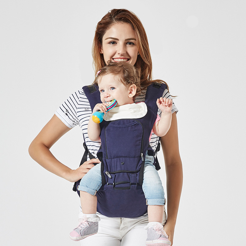 luxury 5 in 1 Baby Carrier Ergonomic Carrier Backpack Hipseat for newborn and prevent o-type legs sling baby Kangaroos<br>