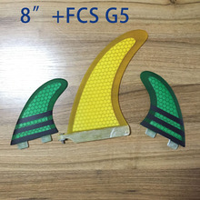 Best price stand up paddle board table FCS fins system set centre fin + fcs g5 from china