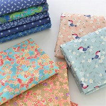 160cm X50cm Colorful Floral 100% Cotton Twill Material of High Quality Cloth Diy Bedding Apron Patchwork Handmade Fabric