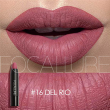 12 Colors Lipstick Matte Lipsticker Waterproof Long-lasting Easy to Wear Cosmetic Nude Makeup Lips BY FOCALLURE