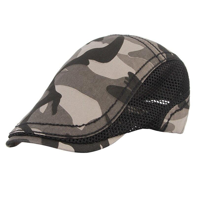 8fc00c596f0 2018 New Summer Casual Beret Hat Men Flat Cap Cabbie Newsboy Style ...