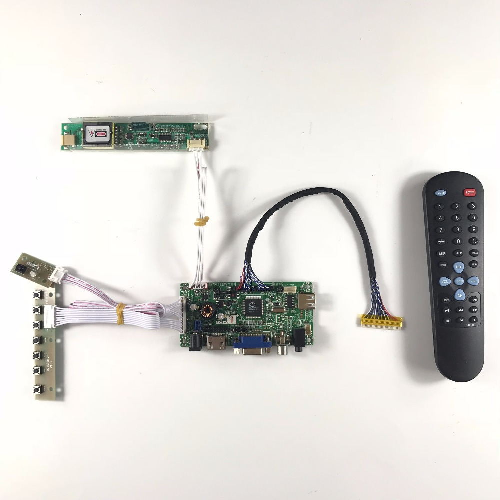 AVX9-CZ HDMI AV VGA AUDIO LCD Controller Board for B154PW01 B154PW02 1440x900 CCFL LVDS LCD AD Board raspberry pi<br>