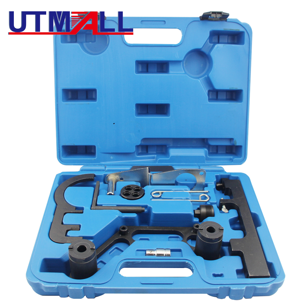 4Pcs Diesel Engine Chain Twin Camshaft Timing Locking Tool Fit for BMW N47 N47S