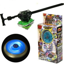 Kids Beyblade Metal Fusion Spinning Top 4D With Launcher Classic Beyblades For Children Birthday Gifts TL06