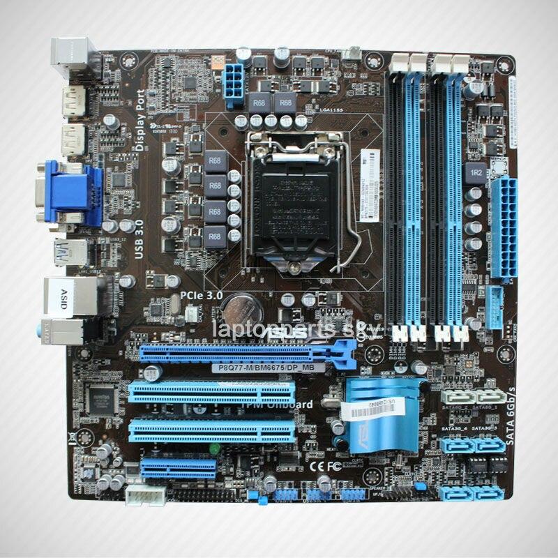 For ASUS P8Q77-M BM6675 motherboard BP6375-I73770039B DDR3 LGA1155 Q77 <br><br>Aliexpress