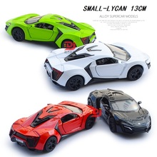 1:36 Die Cast Car (TY-lycan),  13Cm small Lycan alloy model, Metal toys car, Toys vehicles.Pull back car Free Shipping