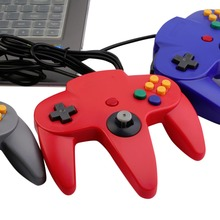 High Quality USB Wired Handle Game Controller Pad Joystick for Nintendo for 64 N64 System For Windows For Mac 5 Colors Optional