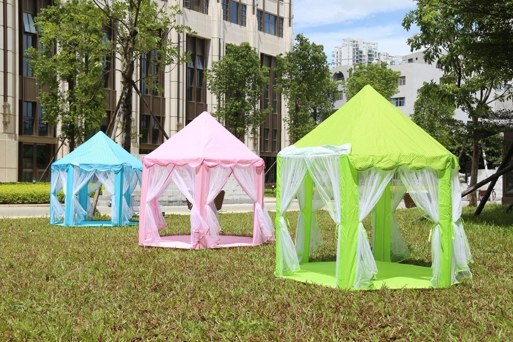 1X Castle Children\`s Tent House of Games For Kids Funny Portable Tent Baby Playing & Game Tents Princess Castle Childrenu0027S Tent Game House For Kids ...