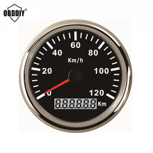 On Sale! Top-Rated 85mm GPS Speedometer Stainless IP67 Waterproof Gauge 120KM/H Speed for Car Truck 12V 24V 3 Color for Choose