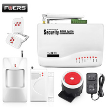 Wireless GSM Alarm System For Home Wireless Security Alarm System Sensor Alarm Systems Security Dual Antenna GSM10A(China)