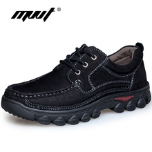 MVVT Genuine Leather Shoes Men Casual Shoes Comfort Cow Leather Lofers For Men Flats Shoes Handmade Plus size Men zapatos hombre(China (Mainland))