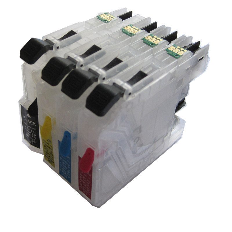 refillable Ink cartridge for LC133 LC137 LC135 for Brother MFC- J470DW/J4410DW/J4510DW/J4710DW DCP- J152W/J4110DW printers<br>