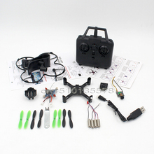 DIY Mini Drone With 0.3MP Wifi Camera Assembly Remote Control Quadcopter Helicopters Headless Mode A Key Return RC Toys