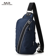 2017 New Mark Ryden Waterproof Chest Bag Casual Style Bag Functional Waist Bag Large Capasity Single-Strap Bag(China)