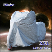 XXXXL XXXL XXL Big Size Waterproof Dustproof Motorcycle Cover,UV resistant Heavy Racing Bike Cover, Rain Proof Scooter Cover