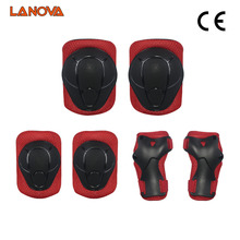 LANOVA 6pcs/set Skating Protective Gear Elbow Pads Knee pads wristguard Bicycle Cycling Skateboard Ice Skating Roller Protector(China)