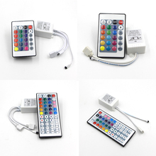 DC12-24V 6A 24/44 Key IR Remote RGB led Controller Box for Flexible SMD 3528 5050 2835 RGB LED SMD Strip Lights