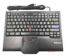 Original Genuine for Lenovo ThinkPad 8845 SK-8845 SK-8845CR SK8845 UltraNav USB Keyboard Trackpoint Big Enter Russian JP Europe(China)