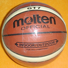 New Molten GT 7 basketball ball gift inflatable pump / Needle/ Net high quality bola de basquete basketball stand size 7 ball