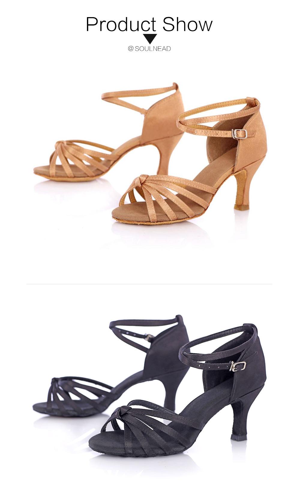 Latin Dance Shoes For Women Salsa Tango Ballroom Dance Shoes High Heels soft Dancing Shoes 5 7cm Heel zapatos baile comfortable (9)
