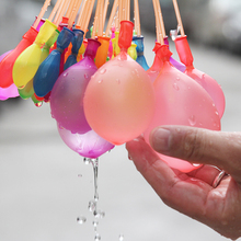 Water Balloon 3 Bunches=111pcs Ammo Bombs Summer Outdoor Garden Fun magic ball toy Games Kids Party bunch filling water balloons(China)