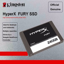 Kingston Digital HyperX FURY SSD 240GB 120GB Internal Solid State Drive SATA III Gaming HDD HD SSD Hard Drive Notebook Laptop(China)