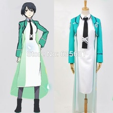 Cos The Irregular at Magic High School Mari Watanabe Practitioner Cosplay Costume Course 1 Curriculum Long School Uniform