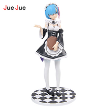 JueJue Re:Life in a different world from zero Rem Action Figure Ram Nendoroid Figure Doll PVC figure Toys Brinquedos