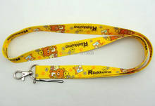 1 PCS Rilakkuma key lanyards id badge holder keychain straps for mobile phone Free Shipping