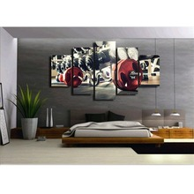 Fitness Equipment canvas wall art abstract print home decor for living room modern pictures 5 panel large poster HD(China)