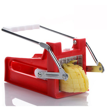 Stainless Steel French Fry Cutter Chip Maker Top Quality Potato Vegetable Slicer 2 Blades Easy Kitchen Tools YL970572