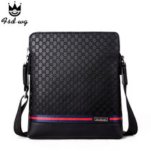 New hit color shoulder bags split leather bolsas famous brand design mens business men's crossbody bag men Satchels bolsos