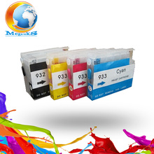 For HP 932 933 new Refillable Ink cartridge for HP Officejet Pro 6100 6600 6700 7100 7610 printer
