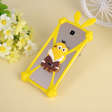 Universal Silicon Cartoon Coque Case for Samsung Galaxy Trend / S Duos GT S7562 S7560 Trend Plus S7582 S7580 Fashion Top quality