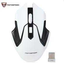 Motospeed G409 2.4GHz Wireless Gaming Human Ergonomic Design Adjustable DPI Auto Sleep Support Linux OS Mouse