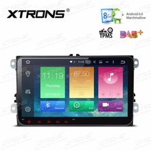 "XTRONS 2 Din 9"" Android 6.0 Octa Core Car DVD Player Radio for vw Volkswagen Golf Plus Passat CC Touran Tiguan Sharan Skoda Seat(China)"