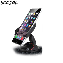 SCCJG Silicone sucker Mouse Auto Car Phone Holder Bracket Windshield Holder For Iphone 4.7 5.5 inch GPS Stand Mount For Oneplus(China)