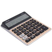 Big Size Display Fashion Portable Tax Check & Correct Calculator Cute Dual Power Calculadora Office & School Hesap Makinesi(China)