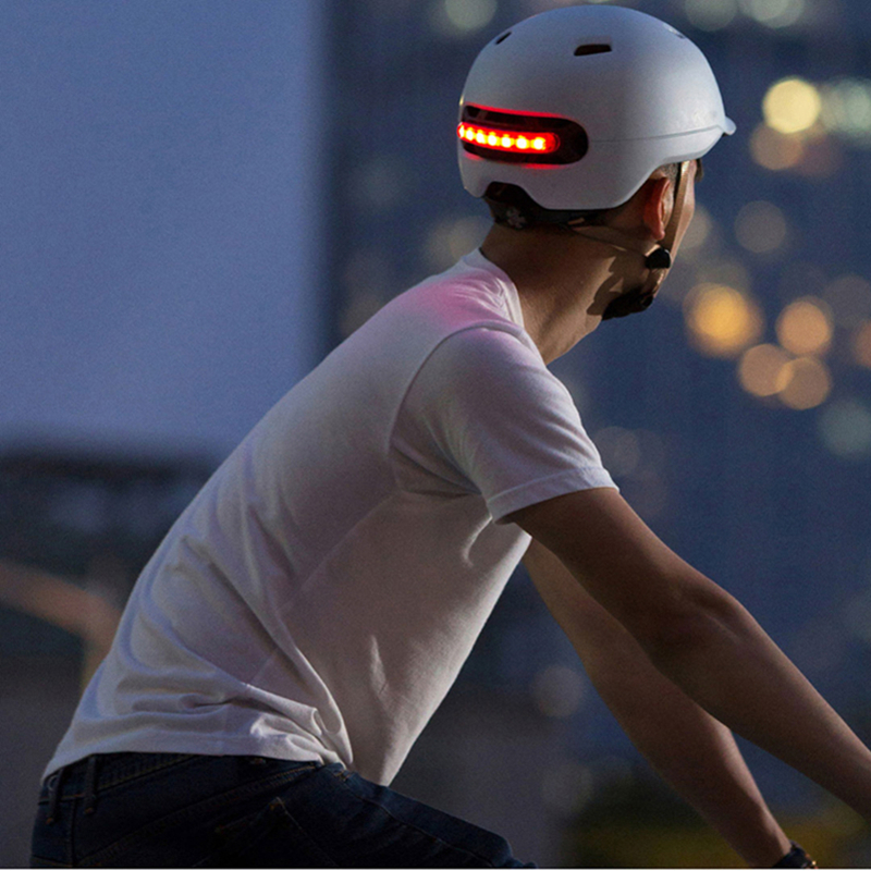 Xiaomi Smart4u Bicycle Smart Flash Half Helmets (9)