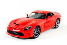 Dodge Viper SRT Viper GTS Alloy 1:18 Sports Car Model Simulation American Muscle Car