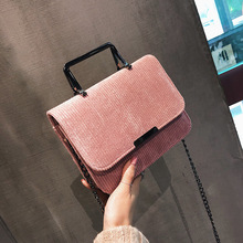 Miyahouse Hot Sale Women Mini Shoulder Bag Casual Tote Handbags Corduroy Design Female Flap Messenger Bags For Lady Small Bag(China)