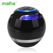 Maiha M18 Portable Wireless Mini Bluetooth Speaker Super Bass Boombox Sound box with Mic TF Card FM Radio LED Light